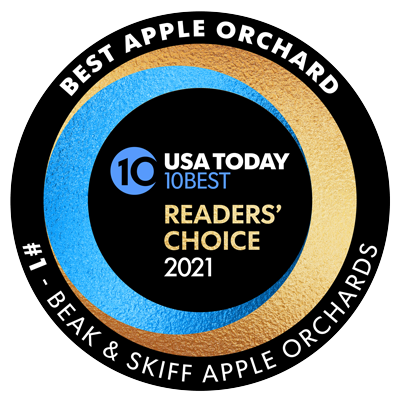 #1 Apple Orchard - USA Today 10 Best Reader's Choice 2021